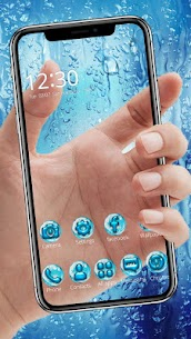 Water Drops Themes HD Wallpapers 3D icons 2
