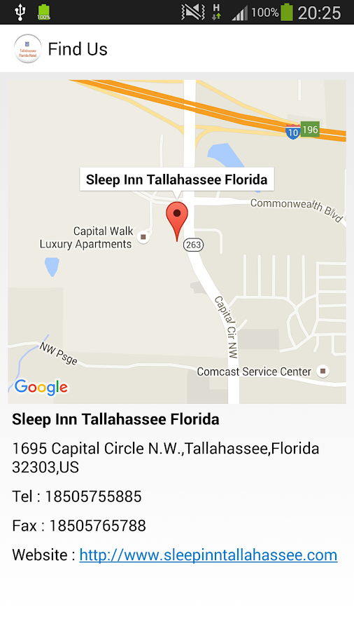 Sleep Inn Tallahassee Florida- screenshot