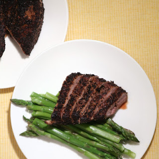 Quick and Easy Coffee Crusted Steak