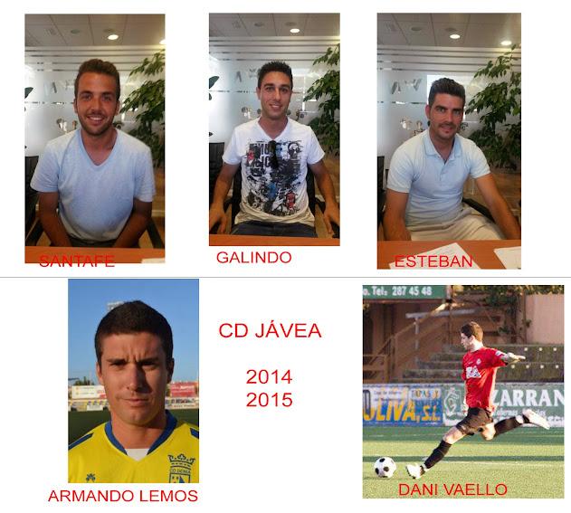 El CD Jávea se refuerza para la temporada 14-15 con cinco fichajes nuevos