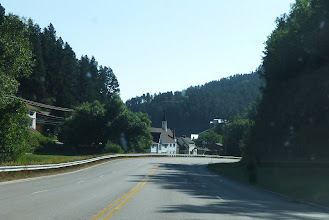 """Photo: Driving by Deadwood's sister city of Lead (pronounced """"Leed"""")."""