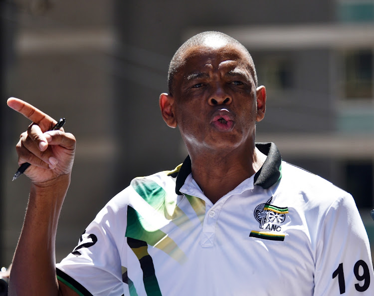 ANC secretary-general Ace Magashule wants the names of ANC members who are facing corruption or serious criminal charges and also those who are facing allegations of or are implicated in corruption. File photo.