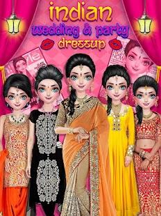 Indian Wedding Party Dressup Fashion Screenshot Thumbnail