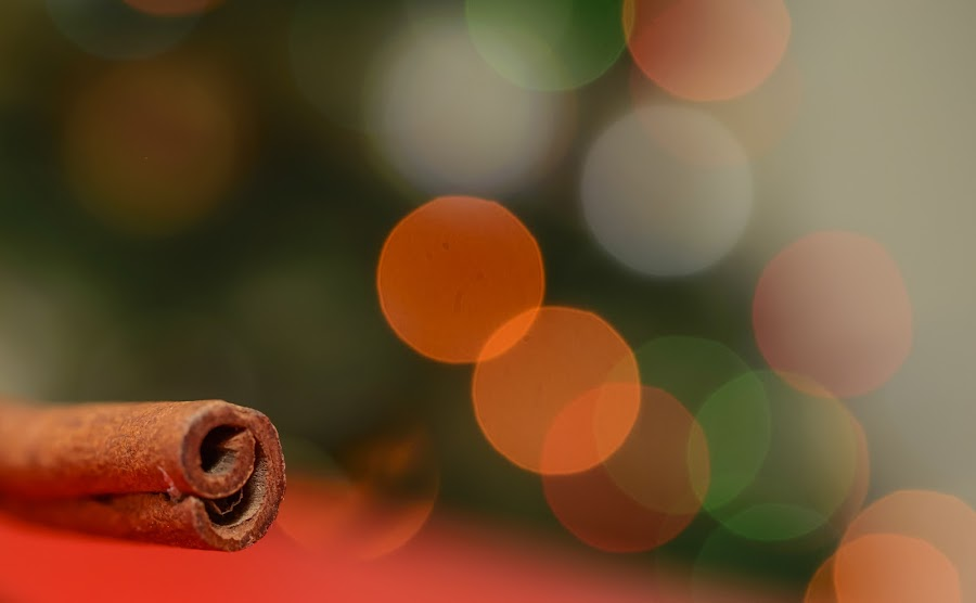 Holiday Flavour by Andreea Alexe - Artistic Objects Still Life ( lights, indoor, cinnamon, christmas, bokeh, , Holiday, Cheer, Christmas, New Years, Holiday Spirit, retail, commerical, design, store, interior, decor, decoration, face, photography, closeup, close, up )