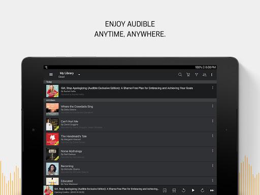 Audible Audiobooks, Original Stories & Series screenshot 9