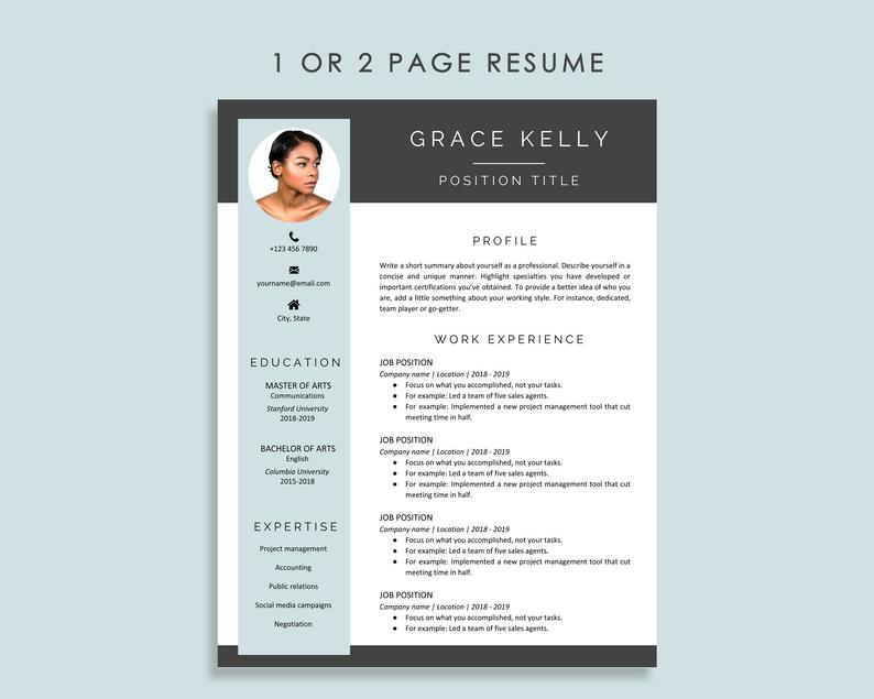 Make Your CV With a Resume Template on Google Docs