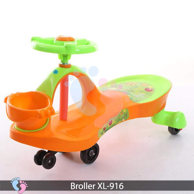 xe lắc tay trẻ em 916