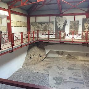 東ローマ帝国の宮殿跡地のモザイク画が美しい!イスタンブール「大宮殿モザイク博物館」