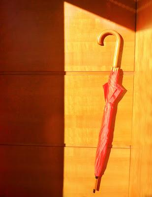 Umbrella orange di luiker