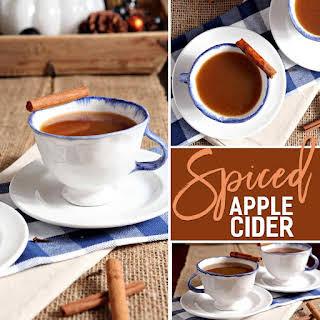 Spiced Apple Cider.