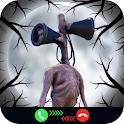 Siren Head Call Simulation - Scary SirenHead prank icon