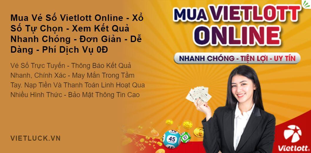 Ưu điểm của mua Vietlott online