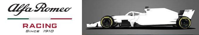 2020F1新車発表アルファロメオ