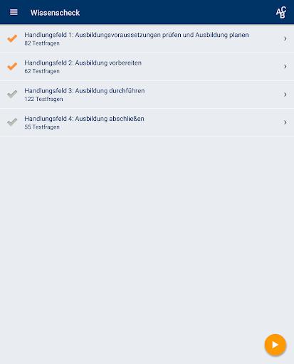 Screenshot for IHK.AEVO Trainieren – Testen in Hong Kong Play Store