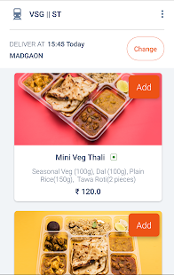 Travelkhana-Train Food Service- screenshot thumbnail