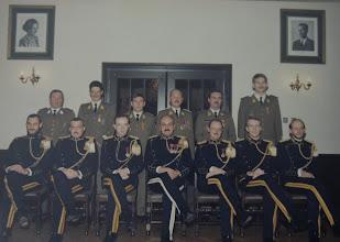 Photo: 15 Nov 1987 Plainchamp, Bruyninckx, Vermaerke, Van De Velde, Rapaille, Vandevoorde. Dewachter, Segers, Driessens, Ceulemans, Wanlin, Swennen, Bartholome