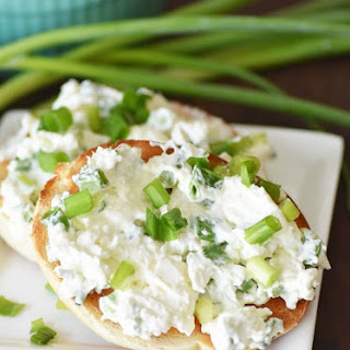 Homemade Scallion Cream Cheese