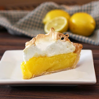 Classic Lemon Meringue Pie.