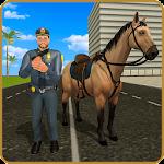 Police Horse Street Crime Chase: NY City Cop Duty Icon