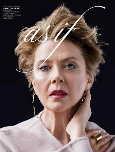 annette bening as if magazine cover 2018