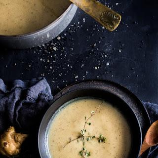 Mushroom and Sunchoke Soup with Truffle Oil Recipe