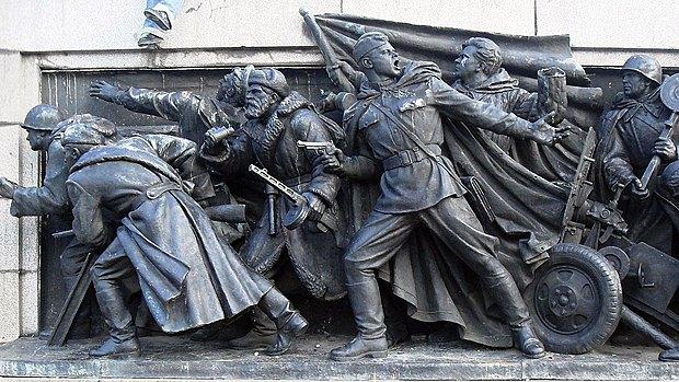Мемориал советским воинам в Софии