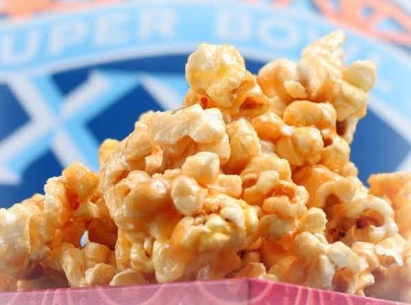 easy microwave caramel popcorn