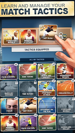 TOP SEED Tennis: Sports Management & Strategy Game  screenshots 4