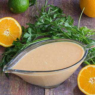 Easy Citrus Salad Dressing.