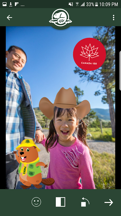 Parks Canada – National App- screenshot