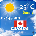 Canada  Weather icon