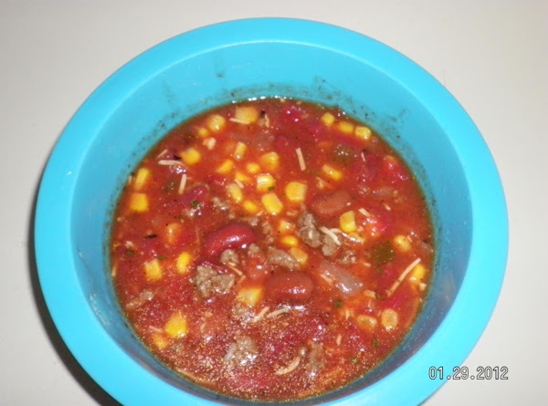 7 Cans Taco Soup Recipe