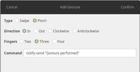 Como configurar gestos do Touchpad no Ubuntu com Gestures - Diolinux