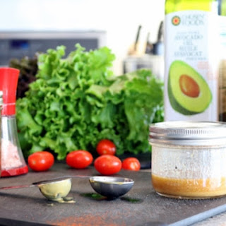 5 Minute Dijon Maple Salad Dressing