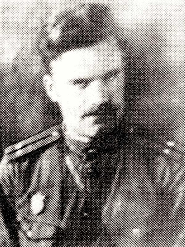 Шерстнёв Никифор Ильич - воин 50 осбр, курсант