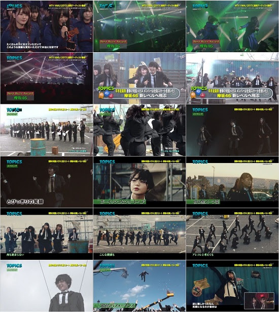 (TV-Music)(1080i) 欅坂46 Part – Japan Countdown 171008