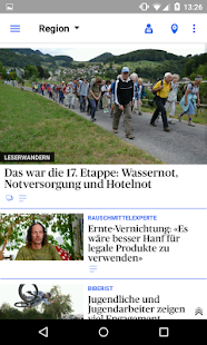 az Solothurner Zeitung News- screenshot thumbnail