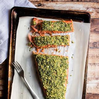 Walnut & Herb Crusted Salmon Recipe