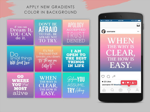 Stories Quote Creator For Instagram Quotes Maker Apk Download