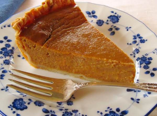 Lisa's Pumpkin Pie Recipe