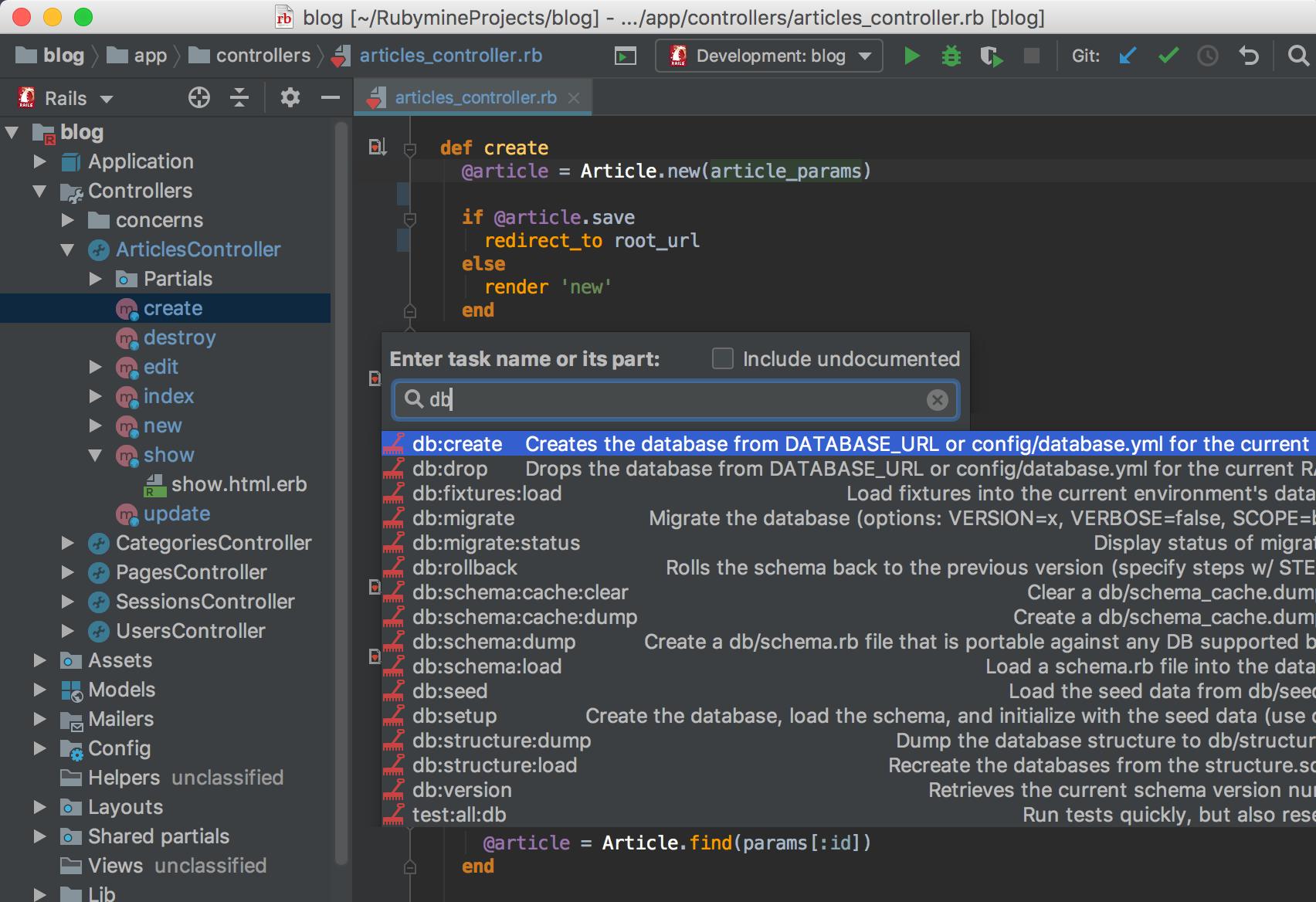 JetBrains RubyMine cho Mac