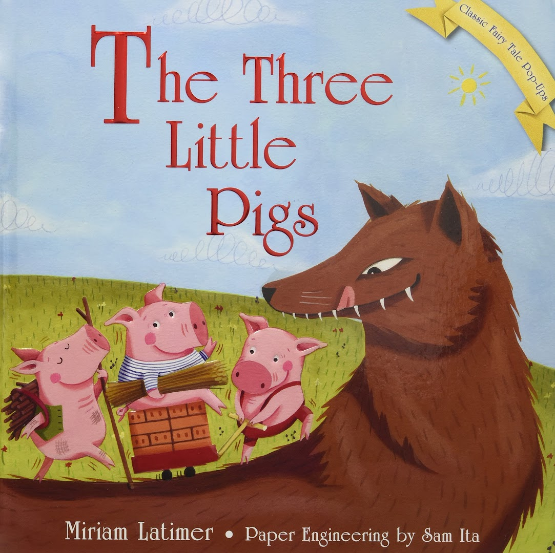 Suga and V reading Story of Three pigs