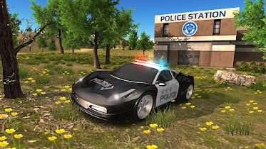 Police Car Driving Offroad - screenshot thumbnail 17