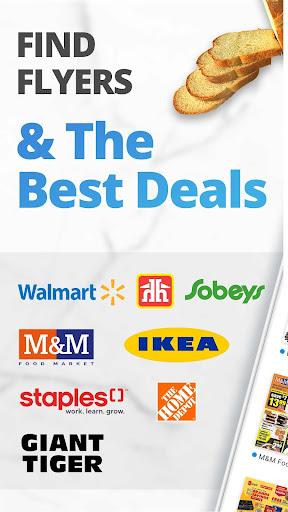 reebee: Flyers, Deals & Shopping List 4.5.8 screenshots 1