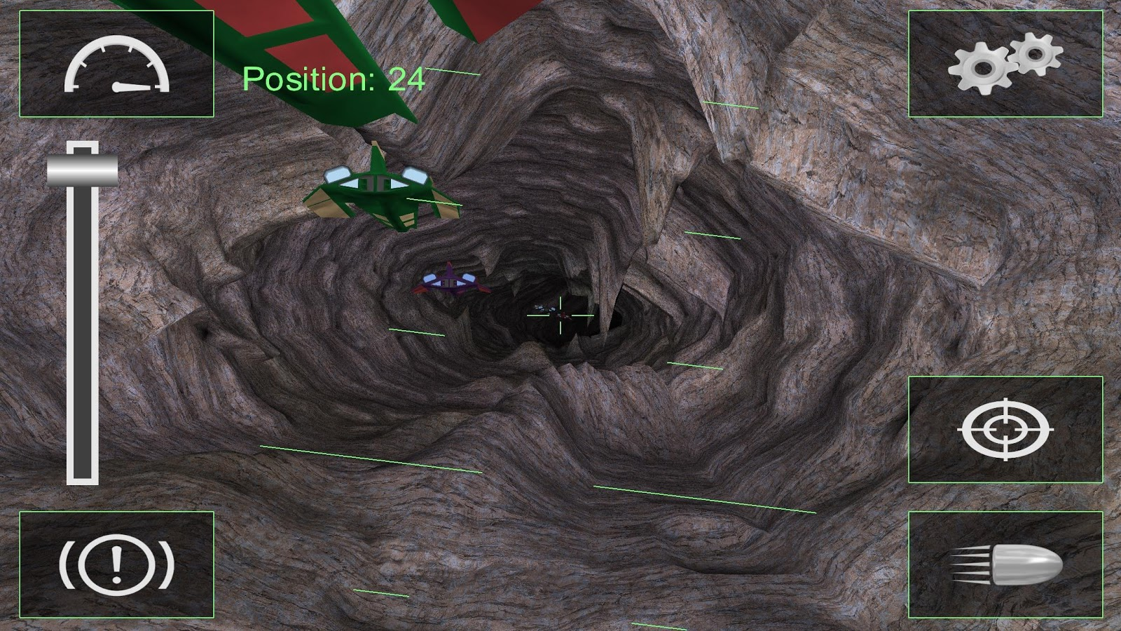 Tunnel Jet Racing- screenshot