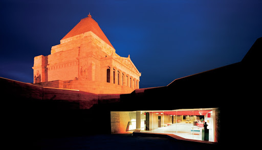 The night before the Shrine visitor centre opens