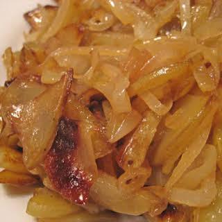 Potatoes Lyonnaise.