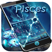 Pisces Zodiac keyboard Theme