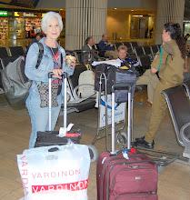 Photo: Meeting with Sar El at airport