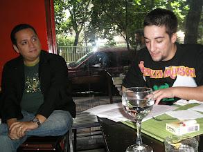 Photo: Fabio Aristimunho e o Del